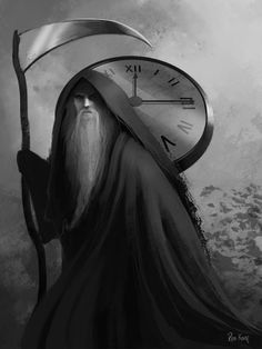 Father Time by Ros Kovac. °