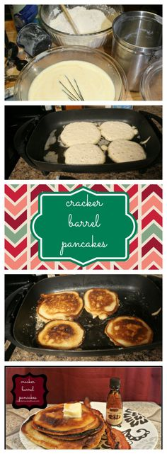 This would make an awesome Special Morning Breakfast! Cracker Barrel Copycat Pancakes. Seriously the best pancake recipe there is!