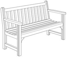 Park Bench Plans - Woodworking Forest