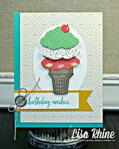 Ice Cream Birthday Wishes - SU - Sprinkles of Life, Build a Birthday