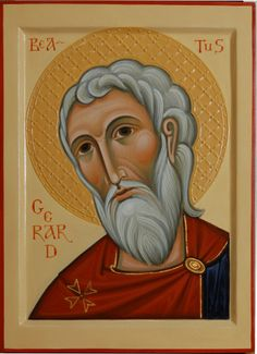 Order Icons of Christian Saints|Icon of blessed Gerard, the founder of Maltese Order