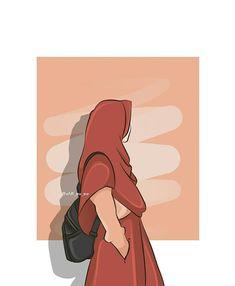 Girl Cartoon, Cartoon Art, Muslim Pictures, Hijab Drawing, Islamic Cartoon, Cute Muslim Couples, Anime Muslim, Hijab Cartoon, Islamic Girl