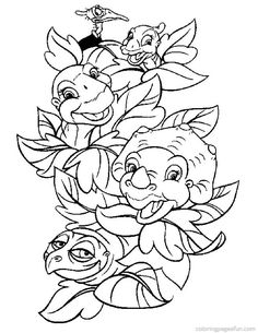 Baby Dino Coloring Pages 6