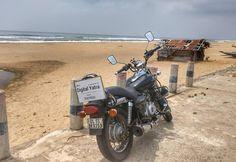 This is Chandrabhaga beach near Konark Sun Temple in Konark. This place has a clean and beautiful beach. Loved the road !  #DigitalYatra Powered by #Aermoo #Highwaymonks #beaches #India #coastal #eastcoast #indiansea #Bayofbengal #puri #konark #suntemple #temple #architecture #cloud #sea #sunbath #travelpics #instastory #instatravel #travelphotography #Biketrip #solotravel #travel #motorcycledreams #motorbiking #AllIndiasoloBikeRide