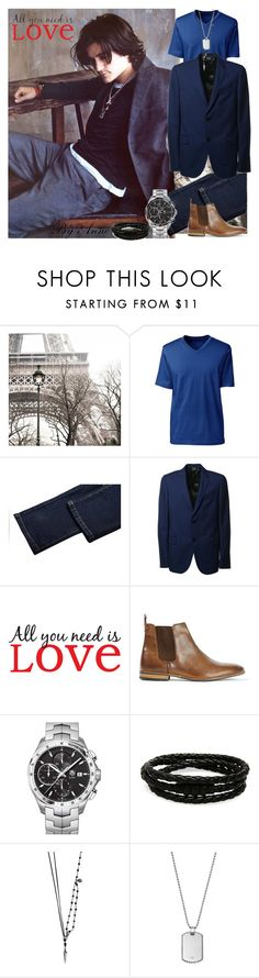 """""""All you need is ....❤️"""" by anne-977 ❤ liked on Polyvore featuring Lands' End, Gucci, Brewster Home Fashions, Topman, TAG Heuer, Porsche Design, title of work and Giorgio Armani"""
