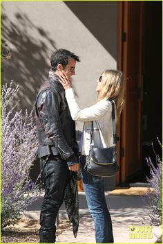 Jennifer Aniston and Justin Theroux!