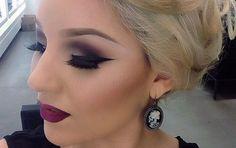 Glamour Holiday Smokey Eye Makeup...