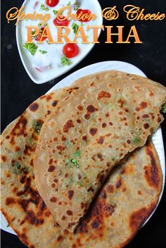 YUMMY TUMMY: Spring Onion & Cheese Paratha Recipe / Cheese and Spring Onion…