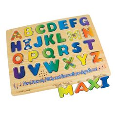 Sound Puzzle w-Braille Pieces- Talking Alphabet - Educational - MaxiAids