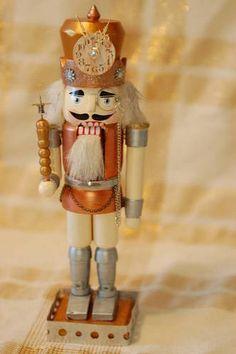 Steampunk Nutcracker created by nicoleburdsall  on www.craftster.org