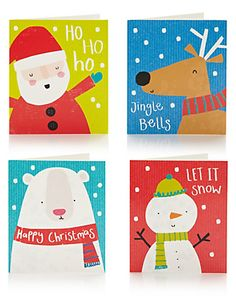30 Fun Character Christmas Cards Home
