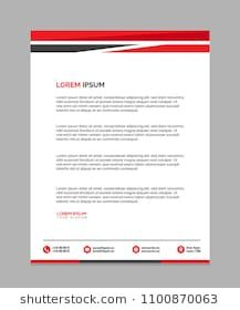 Professional Letterhead Templates Professional Letterhead Vector Eps #letterhead #templates .