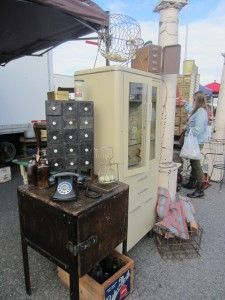 Awesome finds at the Long Beach Antique Swap Meet!