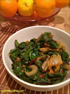 Easy Sauteed Swiss Chard Recipe - Inspired Soul