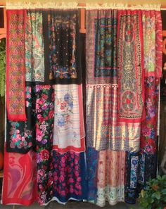 MANDOLIN RAIN Handmade Gypsy Curtains by BabylonSisters on Etsy