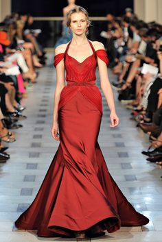Zac Posen Spring 2012 Ready-to-Wear Fashion Show - Coco Rocha