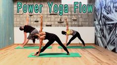 "Power Yoga Flow Workout - ""Truth"" -  w/ Michelle Goldstein"