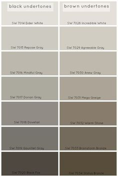 How To Choose The Perfect Grey Paint Color - Claire BrodyClaire Brody Designs. Agreeable Gray or Repose Gray.