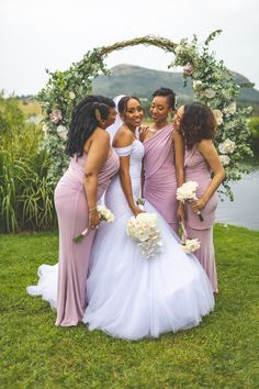 These beautiful ladies are wearing our gorgeous Chloe dress. The Chloe dress is absolutely perfect for you if you want to show off some curves. The Dusty Pink colour looks stunning on the ladies. Bridesmaids, Bridesmaid Dresses, Wedding Dresses, Pink Color, Colour, Chloe Dress, Looking Stunning, Every Woman, Beautiful Ladies