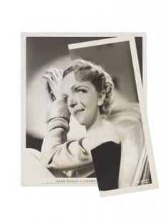 John Stezaker - She (Film Portrait Collage) V - saatchigallery.com