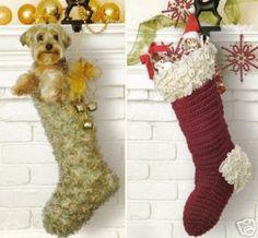 Crochet stocking patterns