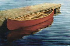 Red Canoe & Dock