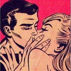 Image about love in Vintage Retro Junk by brelena ♪ ♪ Comic Kunst, Comic Art, Comic Books, Vintage Pop Art, Retro Art, Pop Art Drawing, Art Drawings, Retro Kunst, Romance Comics