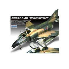 1/48 ROKAF F-4D Aircraft Aero Plastic Model Kit #12300