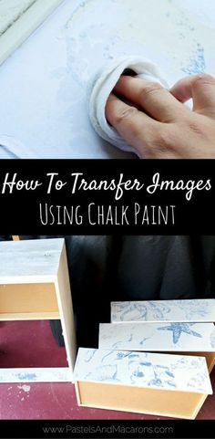 Easy image transfer technique for furniture and other surfaces. This image transfer technique uses minimal supplies like paint and..