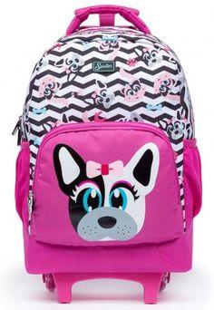 4c29d5a7c 8 melhores imagens de mochila de rodinha | Backpack purse, Backpacks ...