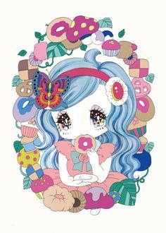 Work - Yurie Sekiya Graphic!
