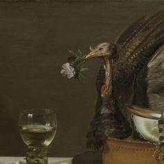 Stilleven met kalkoenpastei, Pieter Claesz., 1627 - still life-Verzameld werk van Miyuki Imasato - Alle Rijksstudio's - Rijksstudio - Rijksmuseum