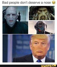 funny, memes, politics, trump, nonose