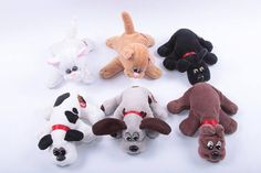 PICK YOUR OWN - Pound Puppy Pound Purry Puppies and Kittens Stuffed Animals Plush Dogs and Cats Vintage Toy  CC001 by ThePinkRoom