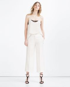 CULOTTES-Culottes-TROUSERS-WOMAN | ZARA United States