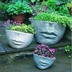 Faccia Contemporary Garden Planter