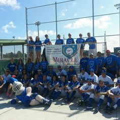 A great Day of Caring with our @Lynn University students and The Miracle League!!
