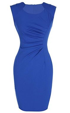 ANGVNS Branded Short Sleeve Ruched Bodycon Cocktail Party Pencil OL Slim Dress ANGVNS http://www.amazon.com/dp/B01221OIWK/ref=cm_sw_r_pi_dp_W-V9vb14370NP