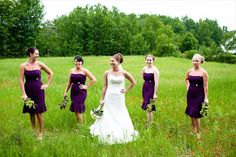 Love the Bridesmaids color