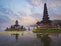 Pura Ulun Danu Bratan - Bali, Indonésie
