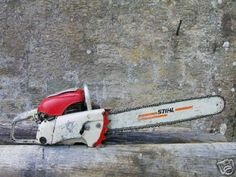1959 Stihl Contra Chain Saw. The Holiest of all Grails. Chainsaw Repair, Stihl Chainsaw, Garden Catalogs, Wildland Firefighter, Tree Felling, Logging Equipment, Lumberjacks, Small Engine, Wood Tools