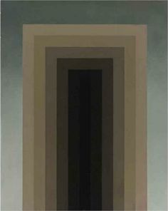 Painting - Roberto Aizenberg Completion Date: 1971 Style: Metaphysical art, Hard Edge Painting