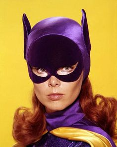 Adam West Batman and Yvonne Craig Batgirl Yvonne Craig, Batman Tv Show, Batman Tv Series, Dc Batgirl, Batwoman, Batgirl Cosplay, Batgirl Costume, Batman 1966, Batman Robin