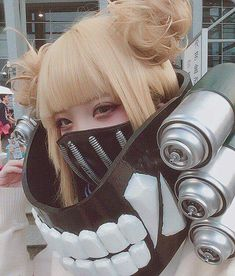 Cosplay Anime Costume Fantastic Himiko Toga cosplay : Boku No Hero Academia Cosplay Anime, Epic Cosplay, Cute Cosplay, Cosplay Makeup, Amazing Cosplay, Cosplay Outfits, Halloween Cosplay, Hinata Cosplay, Cosplay Lindo