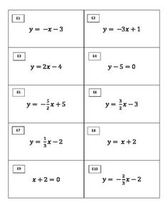 157 Best Education Algebra 1 Linear Equations Images School