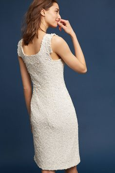Slide View: 3: Sequined Sheath Dress