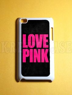 Love Pink iPod Touch 4 Case, 4th Gen iPod Touch Cases, on eBay! $17.99 including shipping