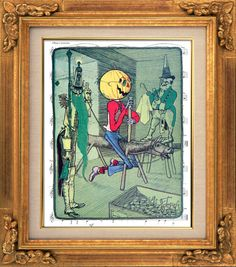 Wizard of Oz, Pumpkinhead in the Emerald City, Sheet Music Art, Book Art, Wall Decor, Fantasy, Frank Baum, Childrens Books Bedroom Art