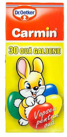 Vopsea lichida galben pentru 30 oua 5ml Dr. Oetker Carmin - 1.70 lei