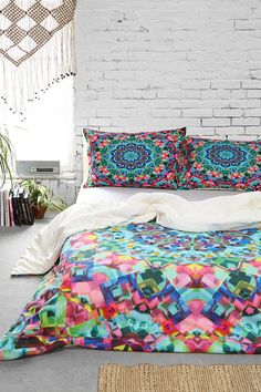 Lisa Argyropoulos for DENY Inspire Oceana Duvet Cover - Urban Outfitters | bedroom | @urbanoutfitters